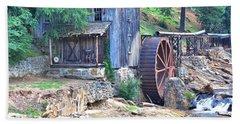 Sixes Mill On Dukes Creek - Square Bath Towel