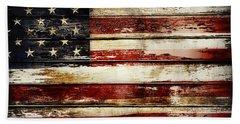 American Flag 33 Bath Towel