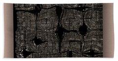 Bath Towel featuring the digital art Contemporary by Mihaela Stancu