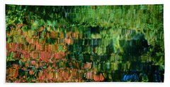 Bath Towel featuring the photograph Autumn Light by Christiane Hellner-OBrien