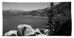 Lake Tahoe Bath Towel
