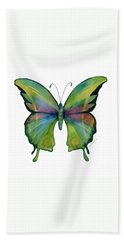 11 Prism Butterfly Hand Towel