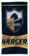 San Diego Chargers Uniform Hand Towel
