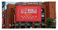 11 Time World Champion St Louis Cardnials Dsc01294 Hand Towel by Greg Kluempers