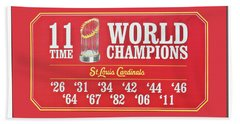11 Time World Chapion Poster Dsc01106 Hand Towel by Greg Kluempers