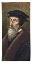 John Calvin (1509-1564) Bath Towel by Granger