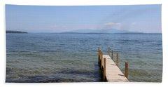 Lake Winnipesaukee Hand Towel