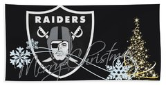 Oakland Raiders Bath Towel