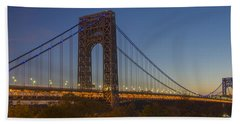 George Washington Bridge Bath Towel