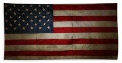 American Flag 56 Bath Towel