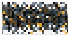 Pixel Art Bath Towel