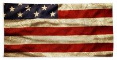 American Flag 59 Bath Towel