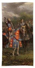 1400s Henry V Of England Speaking Hand Towel