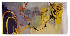 Angel Hand Towel by Marvin Blaine