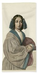 George Sand (1804-1876) Hand Towel by Granger
