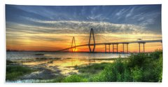 Lowcountry Sunset Hand Towel