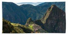 Machu Picchu  Hand Towel