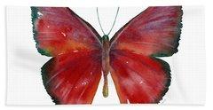 16 Mesene Rubella Butterfly Hand Towel