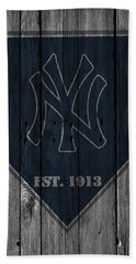 New York Yankees Hand Towel
