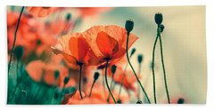 Poppy Meadow Hand Towel