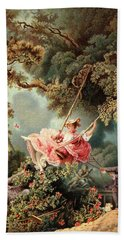 1700s 1767 The Swing By French Painter Bath Towel