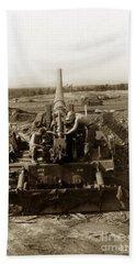 175mm Self Propelled Gun C 10 7-15th Field Artillery Vietnam 1968 Bath Towel