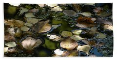 Hand Towel featuring the photograph Autumn Light by Christiane Hellner-OBrien