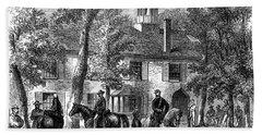 1800s 1860s Fairfax Courthouse Virginia Hand Towel