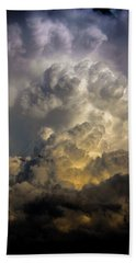 Late Afternoon Nebraska Thunderstorms Bath Towel