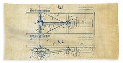 1903 Henry Ford Model T Patent Vintage Bath Towel