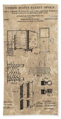 1906 Air Conditioner Patent Hand Towel
