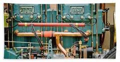 1911 Benz 200 Hp  - Blitzen Benz Engine -2395c Hand Towel