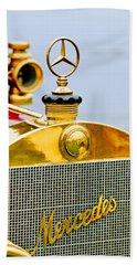 1911 Mercedes 50 Hp Maythorn Tourer Hood Ornament Hand Towel