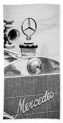 1911 Mercedes-benz 50 Hp Maythorn Tourer Hood Ornament Hand Towel
