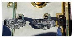 1911 Pope Hartford Model W 4 Cylinder 50 Hp 7 Passenger Brake-clutch Pedals Hand Towel