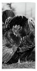 1920s 1930s Wild Turkey Displaying Hand Towel