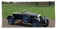 1924 Bentley 3.0 Litre Boat Tail Hand Towel