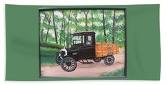 1925 Model T Ford Bath Towel