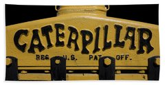 1929 Caterpillar Baby Dozer Grill Bath Towel