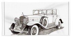 1930 Cadillac V-16 Dual Cowl Phaeton Hand Towel