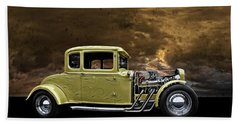 1930 Ford Coupe Hand Towel