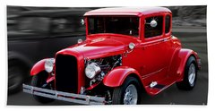 1930 Ford Model A Coupe Hand Towel