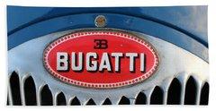 1930's Ettore Bugatti Bath Towel