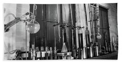 1930s Variety Of Glass Chemistry Hand Towel