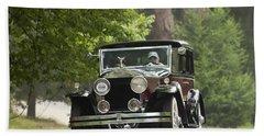 1931 Rolls-royce Phantom I Brewster St. Andrews Bath Towel