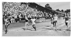 1932 Olympic Track Tryouts Hand Towel
