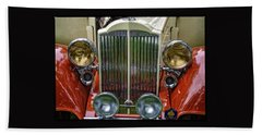 1928 Classic Packard 443 Roadster Bath Towel