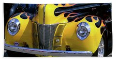 1939 1940 Ford Flame Job Painted Hot Hand Towel