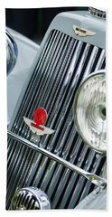 1939 Aston Martin 15-98 Abbey Coachworks Swb Sports Grille Emblems Hand Towel