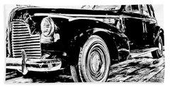 1940 Buick Century Bath Towel
